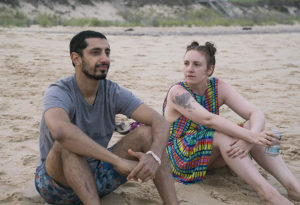 Girls Lena Dunham and Riz Ahmed