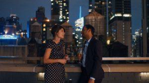 Aziz Ansari e Alessandra Mastronardi in Master of None