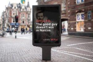 Finta campagna Netflix _ Narcos