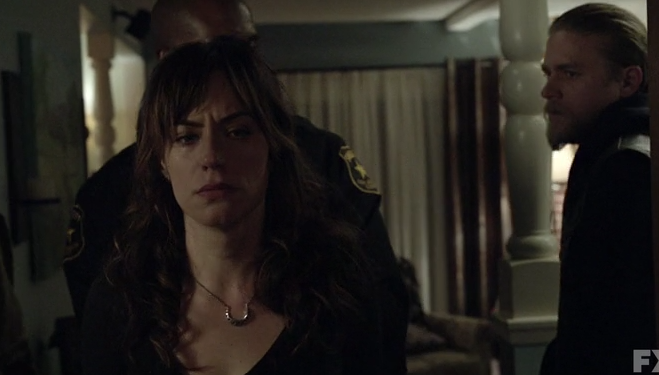 Tara Arrested in Sons of Anarchy
