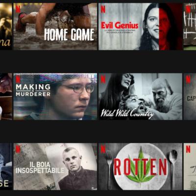 Quali docuserie vedere su Netflix
