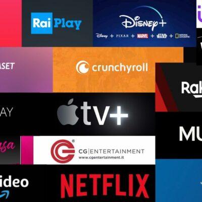 Le piattaforme streaming disponibili in Italia